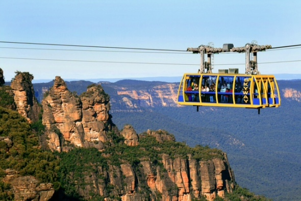 Experience the Scenic Skyway and the Blue Mountains in the Sydney CBD