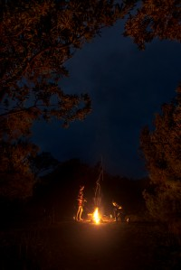 Evening campfires are essential to memorable camping trips. Photo: David Hill, Deep Hill Media