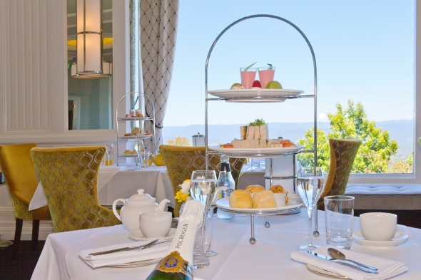 Indulge in high tea in the Wintergarden before having a tealeaf reading in Cat's Alley.